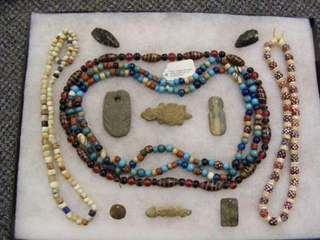 Original West Coast Native American Beads